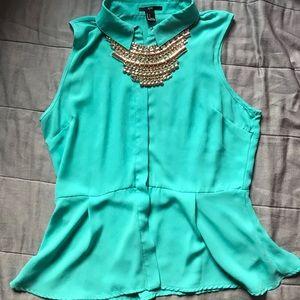 👗Beautiful XXI Women's sleeveless top size L👗